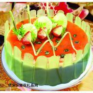 巧克力蛋糕,秋水伊人