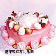 水果蛋糕,红颜知己(10寸)