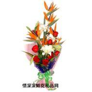 母亲节鲜花,爱的奉献