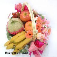 水果礼篮,雅致的爱