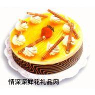 慕斯蛋糕,百香果慕斯(10寸)