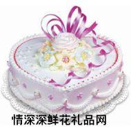 情人蛋糕,清香花�Z(12寸)