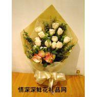香港鲜花,思念